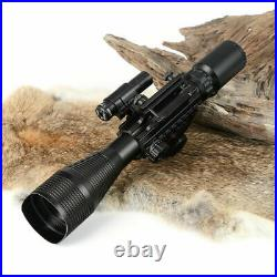 4-12x50 EG Tactical Sight Scope Holographic Red dot Green Laser JG8 for Rifles