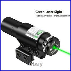 4-12x50 Rifle Scope With Green Laser Sight And HD 4 Holographic Dot Reflex Sight