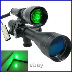 532nm 50mw Adjustable Green Laser Sight Green Laser Flashlight with Mount