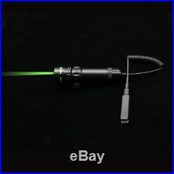 532nm Green Laser Dot Scope Sight Remote Switch 2Mounts CR123A battery For gun S