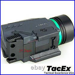 (6 Pack) Combo Pistol LED Flashlight Green Laser Sight Pistol-Rifle