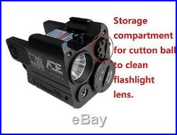 ADE Green Pistol Laser+Flashlight Sight for Springfield HELLCAT COMPACT Pistol