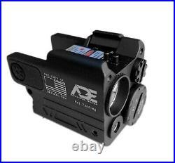 ADE Super Compact Green Pistol Laser Flashlight Sight 4 Canik TP9 TP9SF Handgun