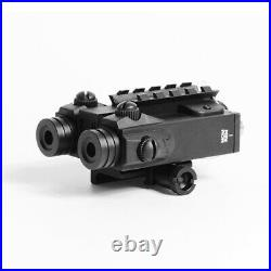 Adjustable Shockproof Dual Beam Green and IR Laser Sight Infrared Hunting Laser