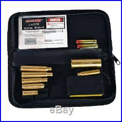 AimSHOT Green Laser Bore Sight Master Rifle Kit KT-MASTER