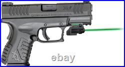 ArmaLaser GTO/FLX Finger Touch Green Laser Sight for Springfield XDM GTOGFLX11
