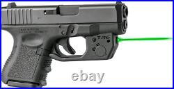 ArmaLaser Laser Sight for Glock 26, 27, 33, Green Beam, Black, TR6G