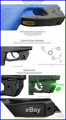 ArmaLaser TR18 Taurus PT709 / PT740 Slim Green Laser Sight with Grip Activation