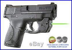 ArmaLaser TR4G GREEN Laser Sight for S&W Shield Pistols with IWB Pocket Holster
