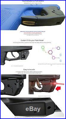 ArmaLaser TR4 Touch RED Laser Sight for S&W Shield Pistols withLaser Holster