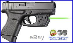 ArmaLaser TR5 GREEN Laser Sight for GLOCK 42, 43 & 48 Pistols with Grip Activation