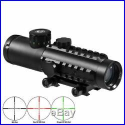 Barska 4x30 IR Electro Sight with LED Flashlight Combo Pack, GLX Green DA12188