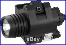 Barska Green 5mw Laser Sight with 200 Lumen Flashlight, AU12394