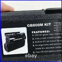 Beamshot Compact Daylight Green Laser Sight Model GB800M Kit New in Box