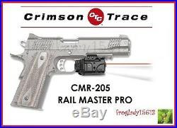 CRIMSON TRACE CMR-205 Rail Master Pro Red Laser Sight & Tactical Light Dealer