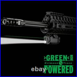 Crimson Trace CMR-204 Rail Master Pro Universal Green Laser Sight & Tactical