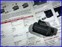 Crimson Trace CMR-204-S Rail Master Pro Green Laser Sight & Tactical Light USED