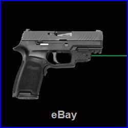 Crimson Trace GREEN LaserGuard Laser Sight For Sig Sauer P320/M17 Pistol LG-420G