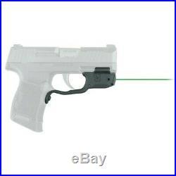 Crimson Trace LG422G Laserguard Sig P365 Pistol Trigger Guard Green Laser Sight