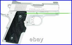 Crimson Trace LG-404G Lasergrip Green Laser Sight for Many 1911 Pistols