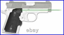 Crimson Trace LG-409G Lasergrip Green Laser Sight for Kimber Micro 9mm, LG-409G