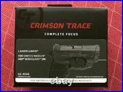 Crimson Trace LG-454G Laserguard GREEN Laser Sight for S&W BODYGUARD. 380
