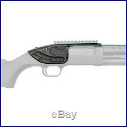 Crimson Trace LS-250G LaserSaddle Mossberg 500 Green Laser Black Shotgun Sight