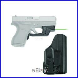 Crimson Trace Laserguard Laser Sight, Green Laser, Blade Tech Holster, Glock 42