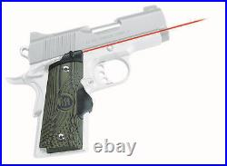 Crimson Trace Master Laser-Grip Laser Sight for 1911 Compact with Green LG-911