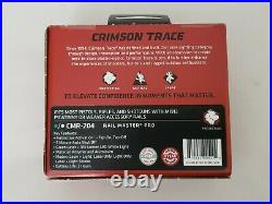 Crimson Trace Rail Master Pro Universal Green Laser Sight and Tactical Light NEW
