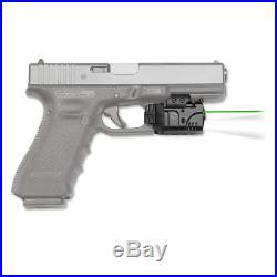 Crimson Trace Rail Master Pro Universal Rail Mount Green Laser Sight Cmr-204