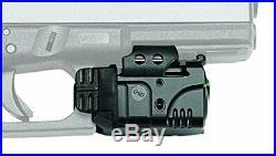 Crimson Trace Rail Master Sight/Tactical Light, Black/Green Laser (CMR-204)