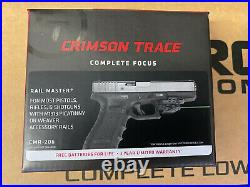 Crimson Trace Rail Master Universal Green Laser Sight for Picatinny Rail Mounts