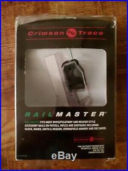 Crimson Trace Rail Master Universal Red Laser Rail Sight