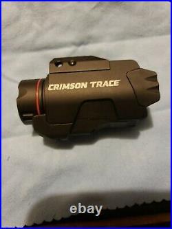 Crimson Trace green laser sight & tac light