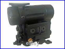 DLP Tactical Twin Beam Green Laser + IR Laser Sight + 250 Lumen LED Weapon Light