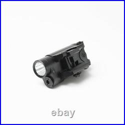 Dual Beam IR Infrared Green Laser Sight Hunting LED Flashlight Tactical Combo