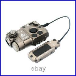 Full Metal PERST-4 IR Aiming Green VIS Laser Sight Designator Pointer Airsoft