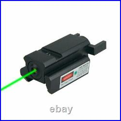 Handgun Mini Red Green Dot Laser Sight For 20mm Picatinny Rail Rifle Low Profile
