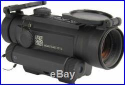 Holosun 1x30 Red Dot & Green Laser, Black, HS401G5 Reflex Red Dot Sight