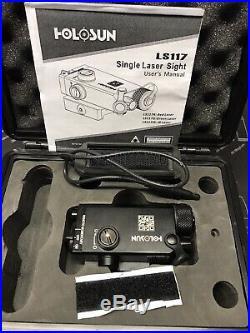 Holosun Compact Green Laser Sight, Black, Small, LS117G