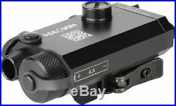 Holosun Compact Green Laser Sight, Black, Small, LS117G Laser Sights