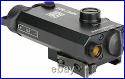 Holosun Compact Green Laser Sight, CR2 Battery, Black, Small, LS117G