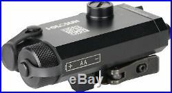 Holosun Compact IR Laser Sight, Black, Small, LS117R Laser Sights QD Rail Mount