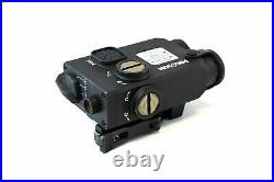 Holosun Dual Green Laser Sight with IR, Black, Small, LS221GIR Laser LS221G&IR