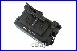 Holosun Dual Green Laser Sight with IR, Black, Small, LS221G Laser Sights