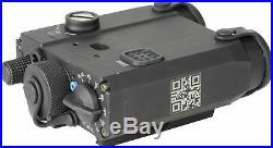 Holosun Dual Laser Sight with IR, Black, Small, LS420 Laser Sights