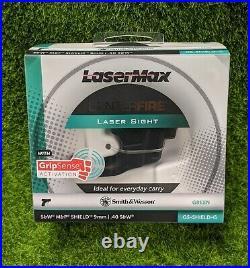 LaserMax CenterFire Laser Sight with Grip Sense, S&W Shield, Green GS-SHIELD-G