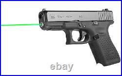 LaserMax Guide Rod Green Laser Sight GEN 5 GLOCK 19-19MOS-34MOS-19X-45