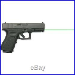 LaserMax Guide Rod Green Laser Sight for Glock 19 Gen 4 Pistols LMS-G4-19G